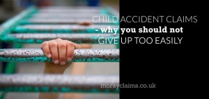 Child's hand on monkey bars