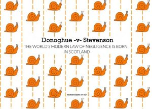 Donoghue –v- Stevenson: the world's modern law of negligence is born in Scotland
