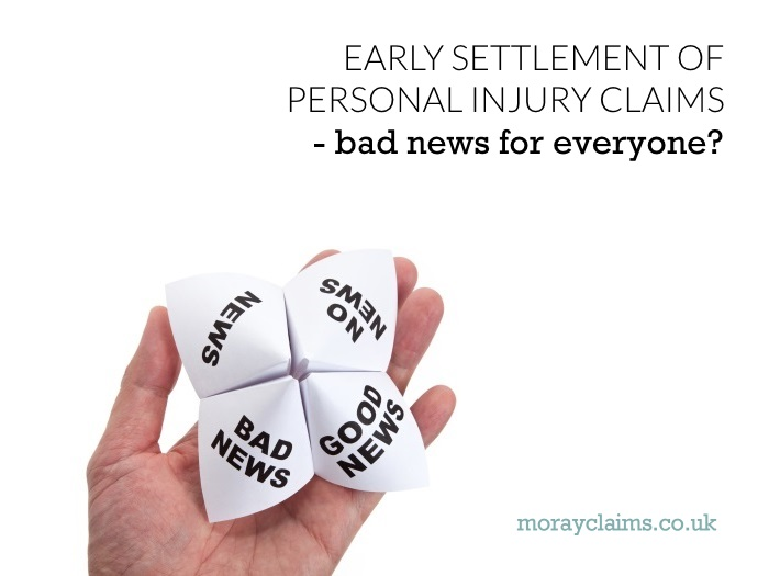 Hand holding paper fortune teller with different types of news