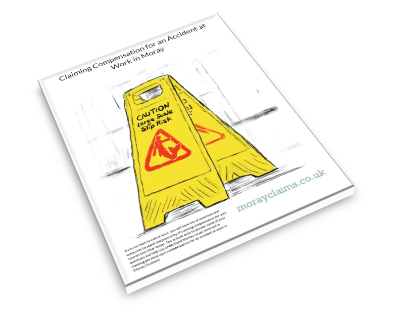 Front cover of Grigor & Young LLP's free eBook - Claiming for an Accident at Work Injury in Moray