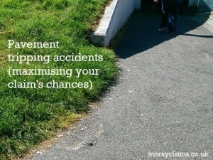 Pavement Tripping Accidents (Maximising Your Claim's Chances)