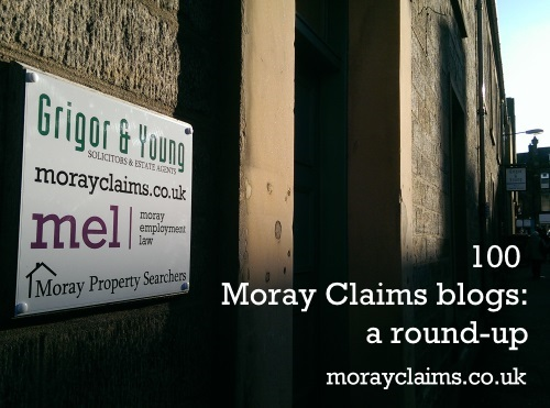 View of Moray Claims / Grigor & Young Premises at 1-7 North Street, Elgin, Moray