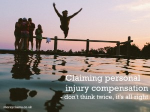 Claiming Personal Injury Compensation – Don't Think Twice, It's All Right