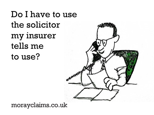(Cartoon) solicitor on the phone