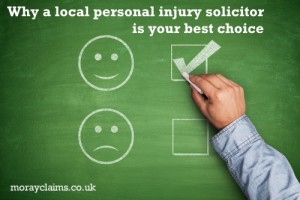 Why A Local Personal Injury Solicitor Is Your Best Choice