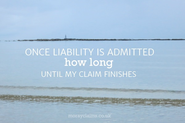 How Long Until My Claim Finishes (Once Liability Is Admitted)?