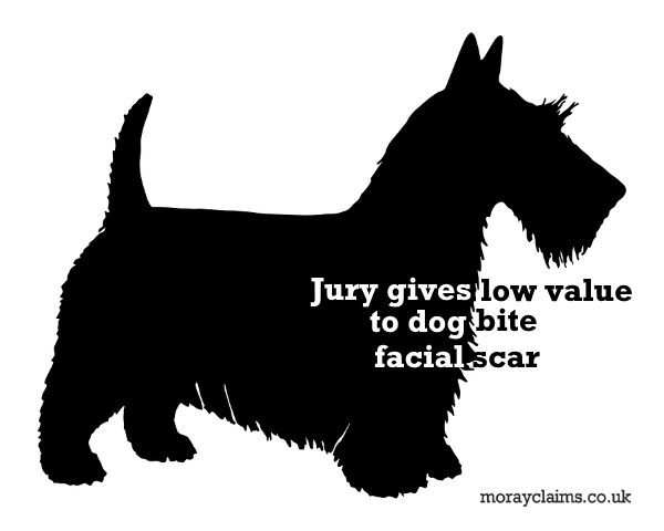 Silhouette of a Scottish Terrier