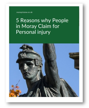 5 Reasons Why People In Moray Claim For Personal Injury - eBook Cover Page