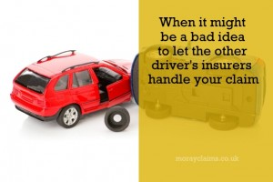 Help From The Other Driver's Insurer (How To Avoid Being Misled)