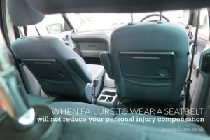 Interior of Ford Galaxy looking towards the front seats.