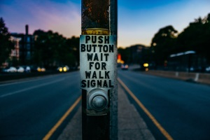 Push Button - Wait for Walk Signal