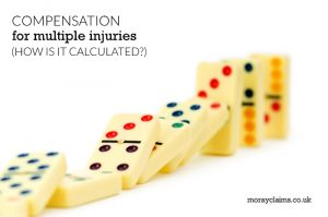 Colourful dominoes toppling