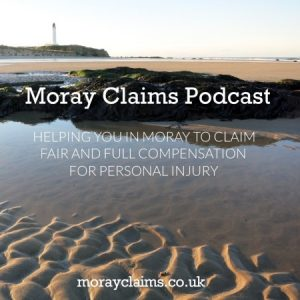 What is the Moray Claims Podcast about?