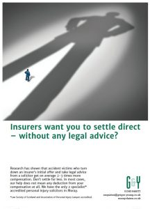 Should you settle a personal injury claim without getting legal advice?