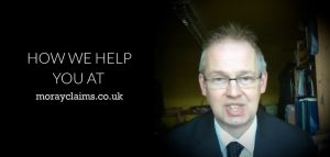 How we help you at Moray Claims