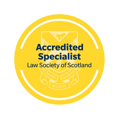Law Society of Scotland Accredited Specialist Logo