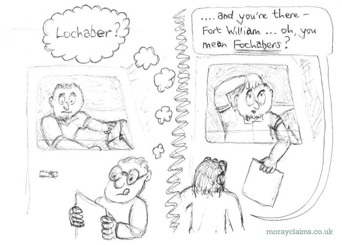Fochabers via Lochaber