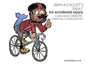 Why a cyclist's fault for an accidental injury can have drastic financial consequences