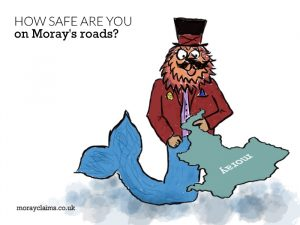 How safe are you on Moray's roads?