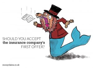 Should you accept the insurers' first offer?