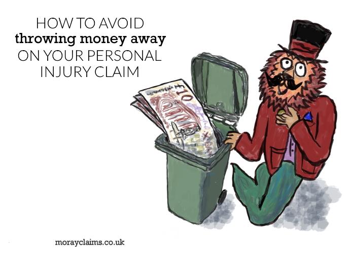 Dandy Lion beside wheelie bin with £10 notes