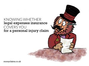 Knowing whether Legal Expenses Insurance covers you for a personal injury claim